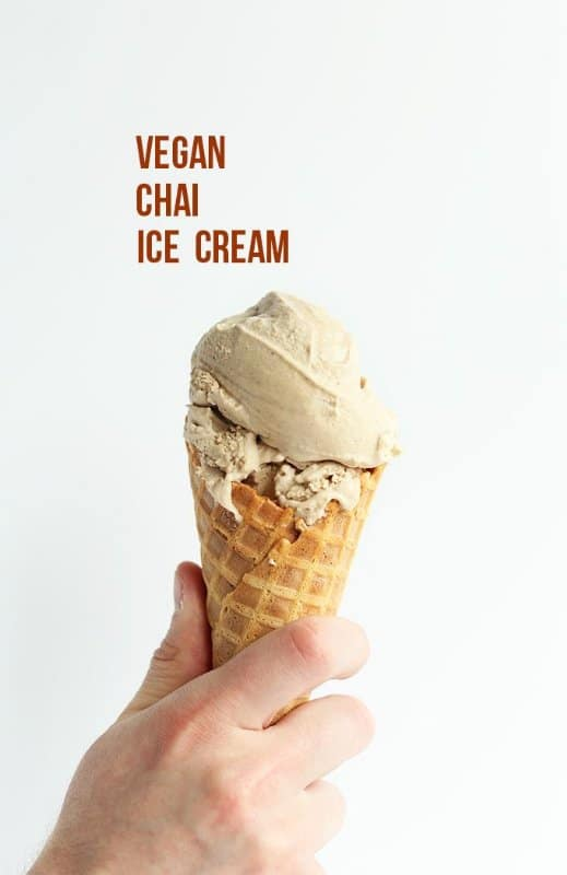 vegan chia ice cream