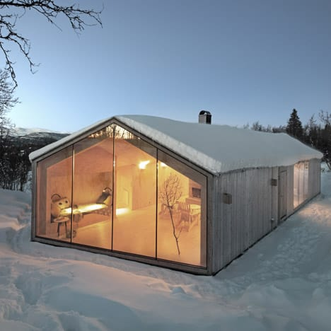 Mountain Hill Cabin, Norway 1