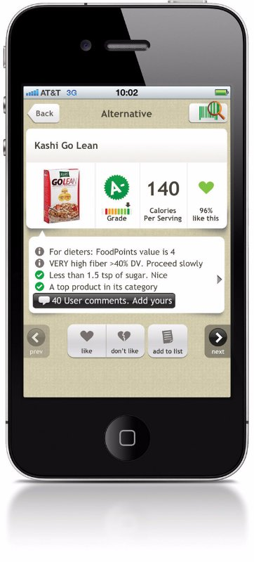 apps for finding non GMO foods