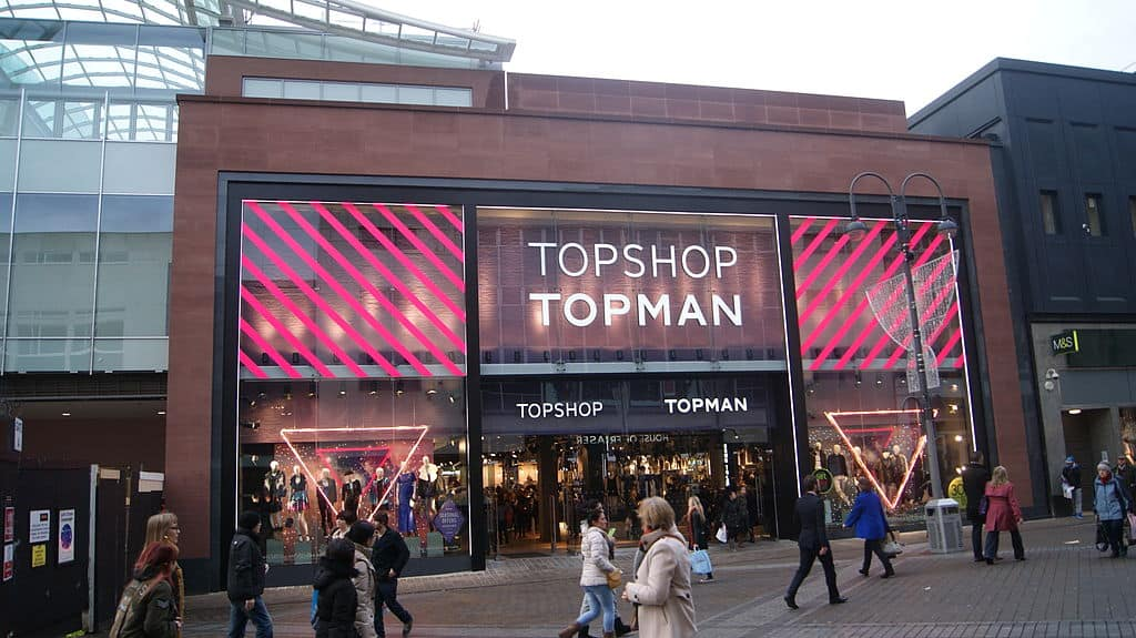 why topshop is unethical