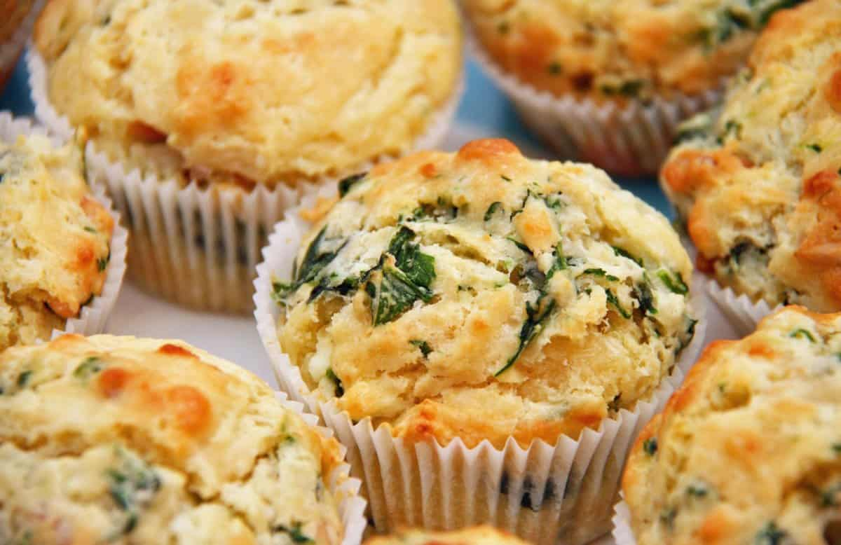 spinach-cheese-muffins