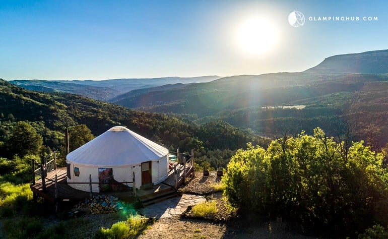 luxury glamping in the USA