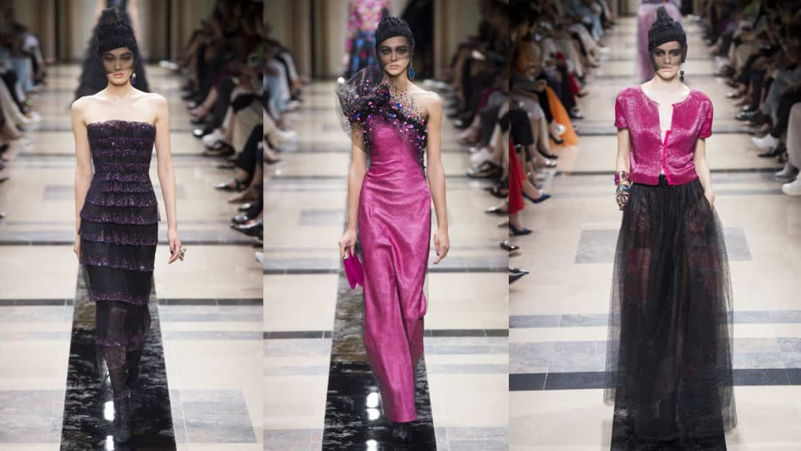 Paris Couture Week Gets Colourful