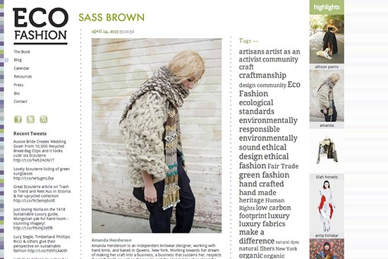Mainstream Mags Are Talking Ethical Fashion
