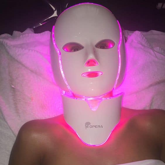 LED Light Therapy Skincare Trend