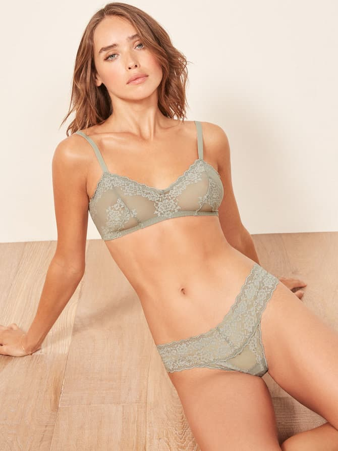 Reformation Sustainable Lingerie Collection