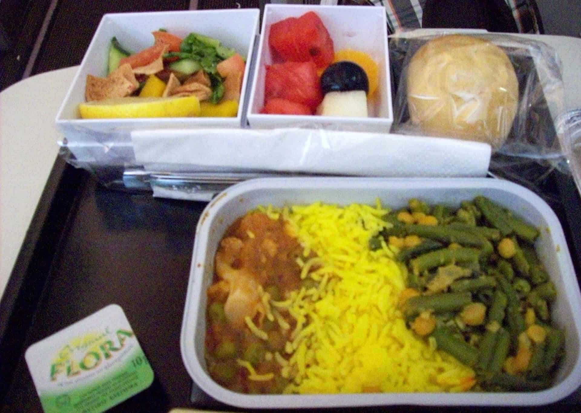 Best Airlines for Vegan Food