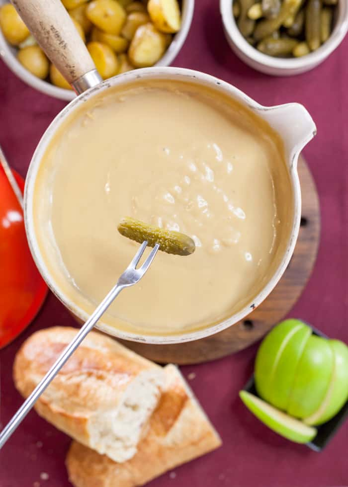 vegan cheese fondue recipe