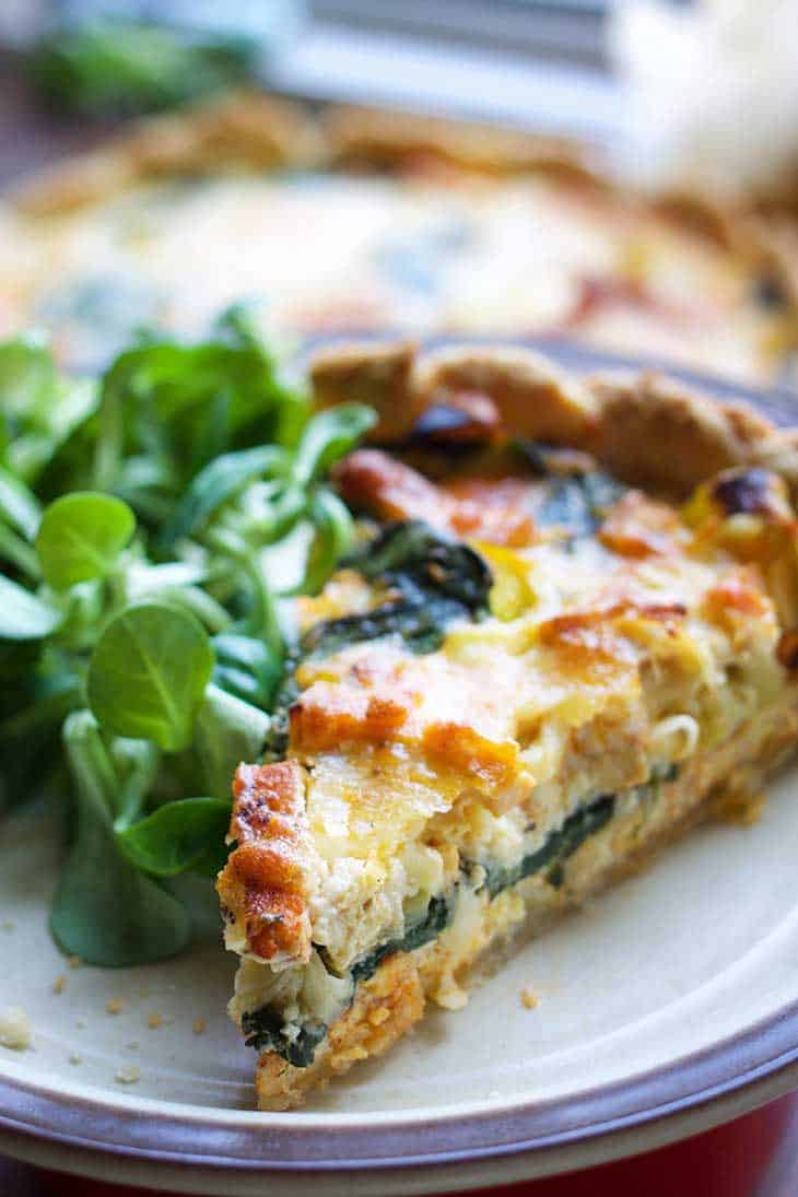 vegan quiche recipe