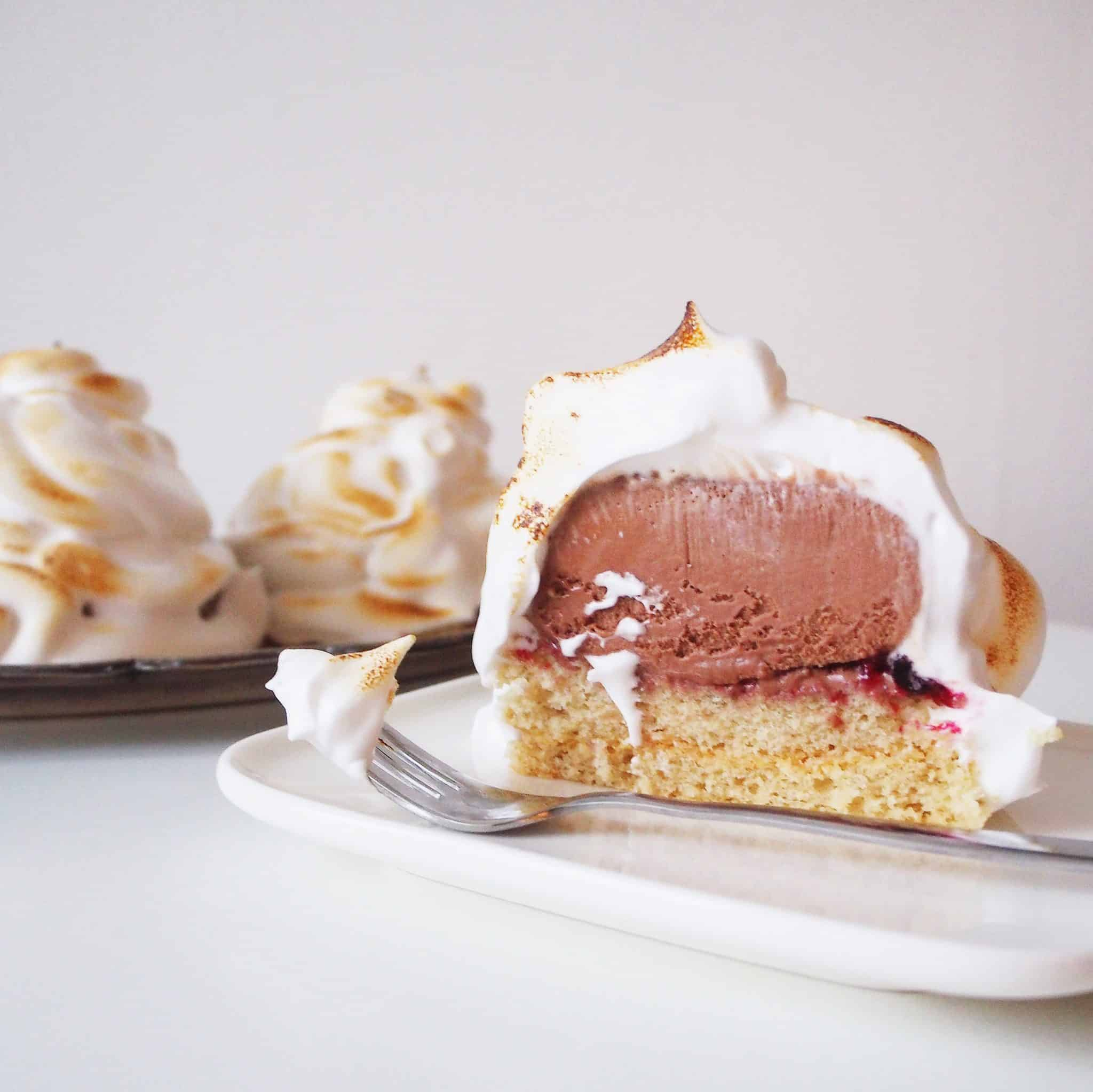 vegan baked alaska recipe