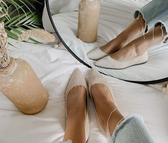 MAYA Aged Brown Leather Ballet Flats Women/'s Leather Shoes Brown flats Available in different colours /& sizes