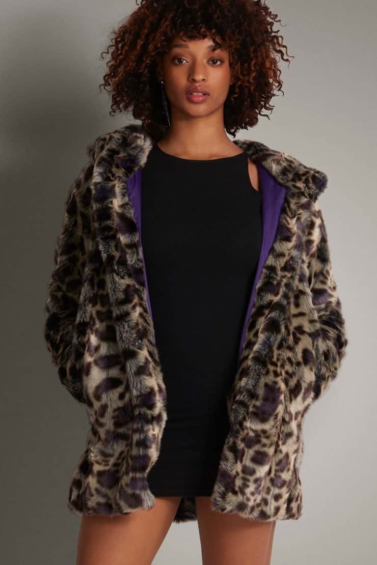 vegan fur coat