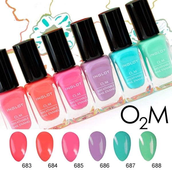 Natural Halal nail polishes