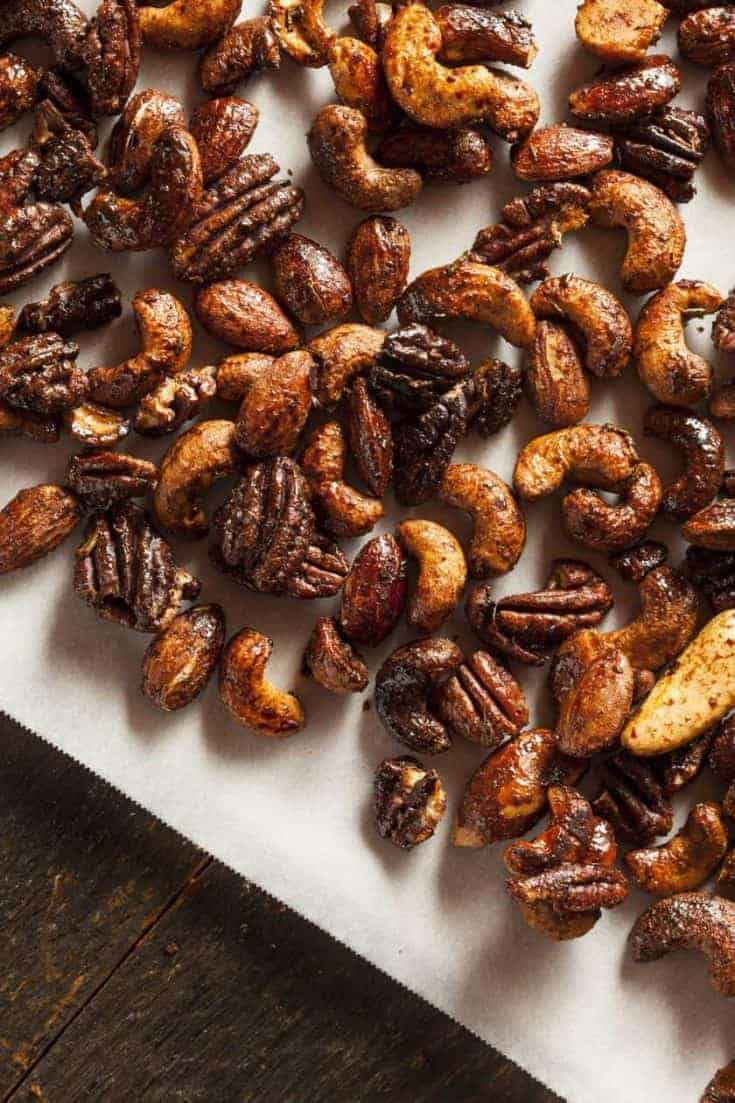 maple spiced nuts recipe
