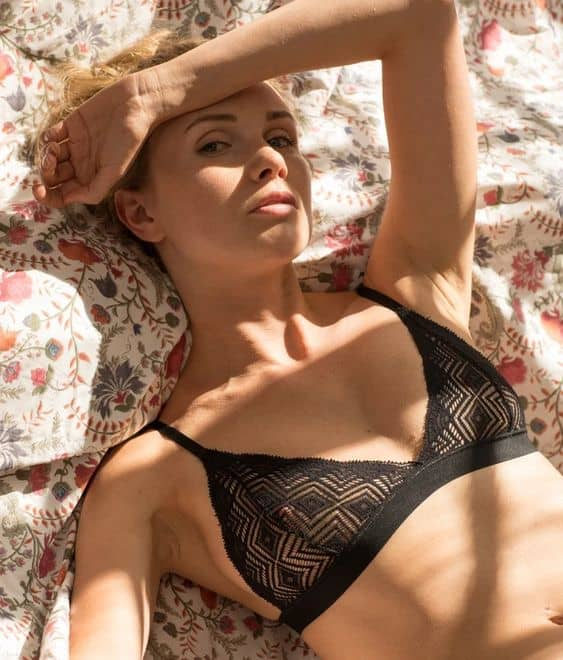 sexy sustainable lingerie