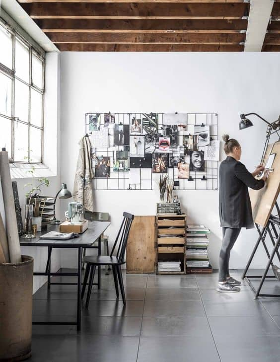 Home Office Ideas For Artists