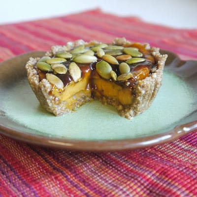paleo vegan pumpkin tart recipe