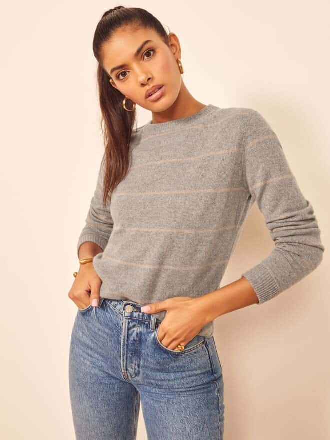 reformation recycled cashmere