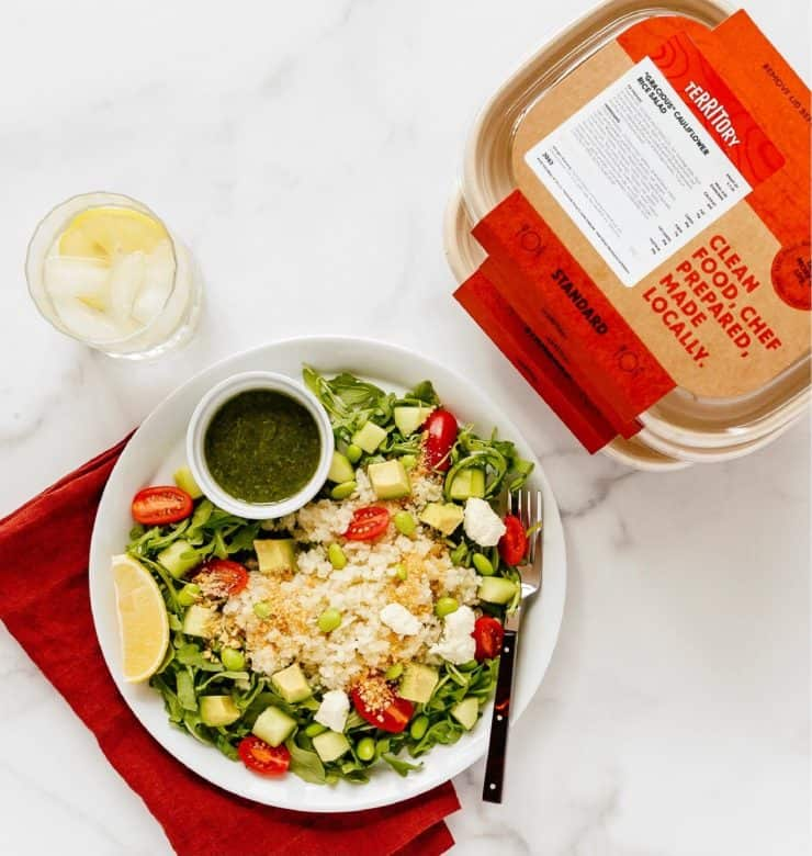 vegan meal delivery services usa