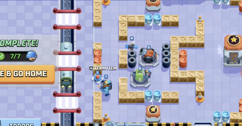 hq 3 defensive layout