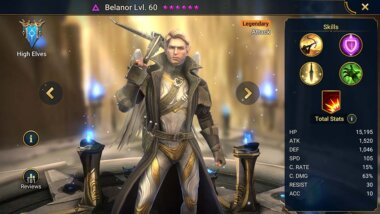 Raid Shadow Legends Belanor