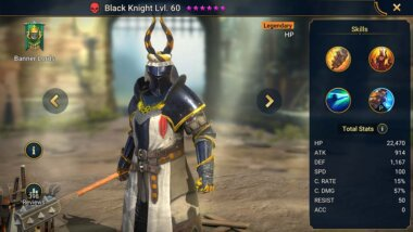 Raid Shadow Legends Black Knight