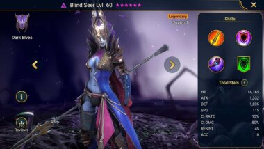 Raid Shadow Legends Blind Seer