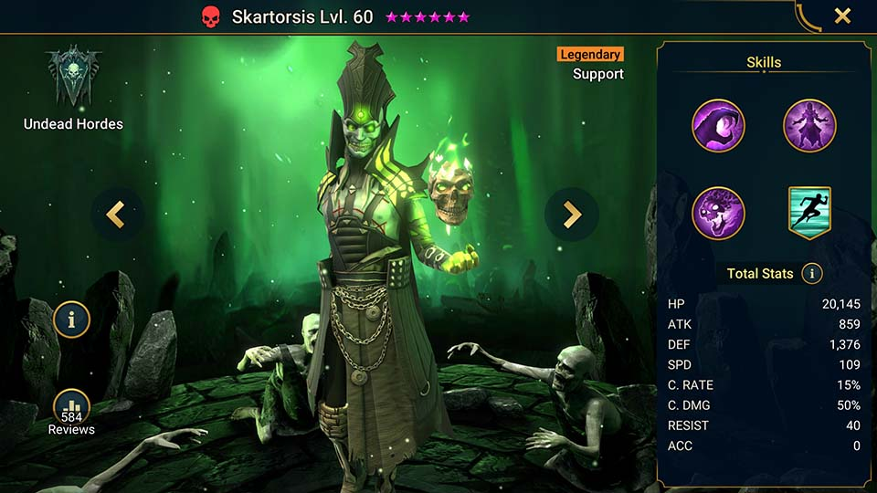 Raid Shadow Legends Skartorsis