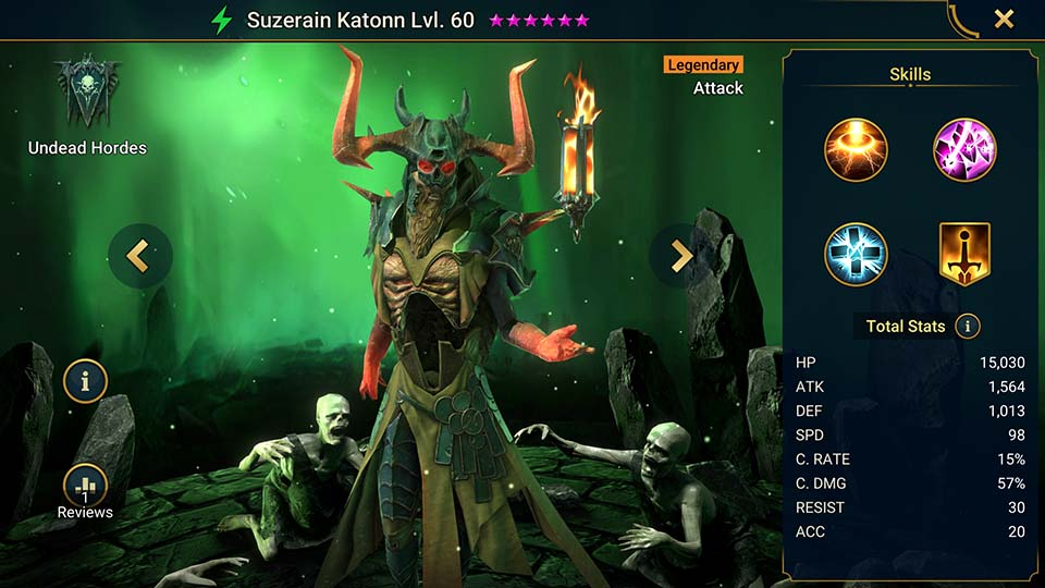 Raid Shadow Legends Suzerain Katonn