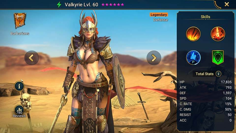 Raid Shadow Legends Valkyrie