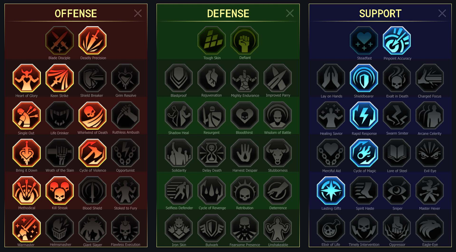 Valkyrie Clan Boss Dungeons
