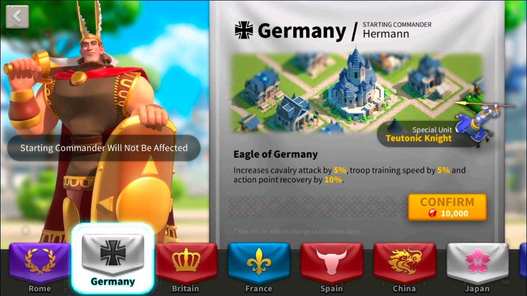 germany rise of kingdoms