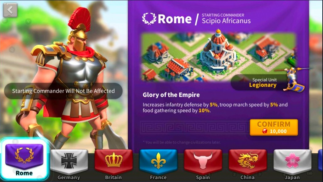 rome rise of kingdoms