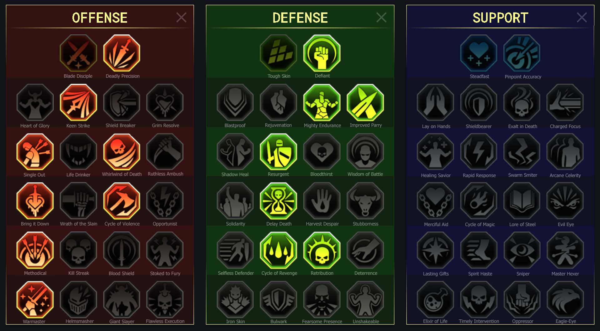 Acolyte Arena Campaign Faction Wars