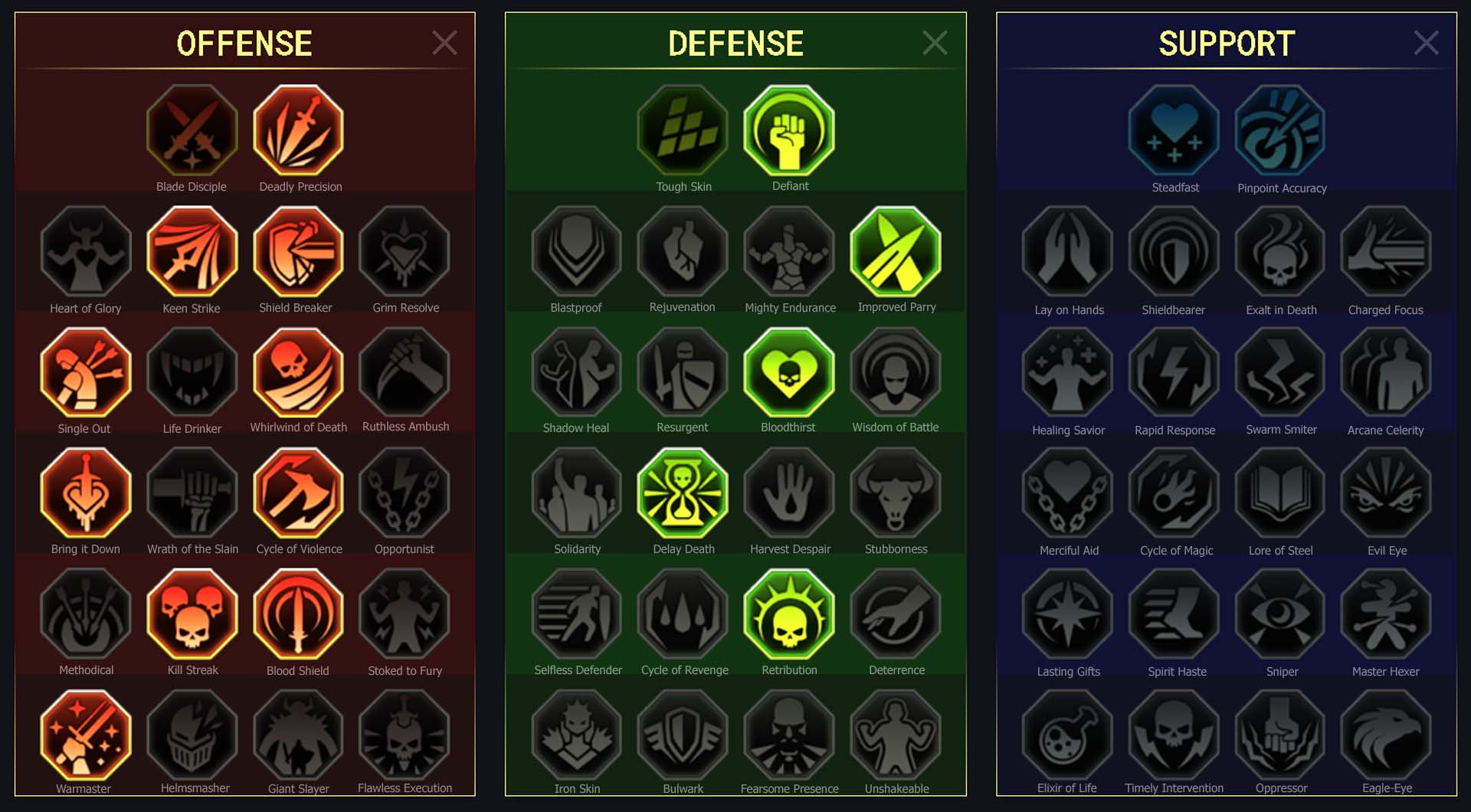 Athel Arena Campaign Faction Wars