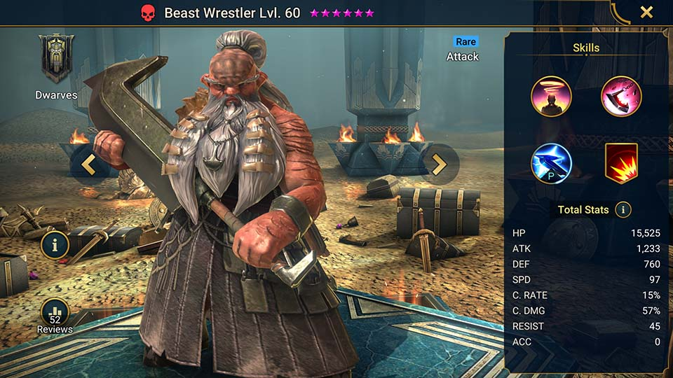 Beast Wrestler Raid Shadow Legends