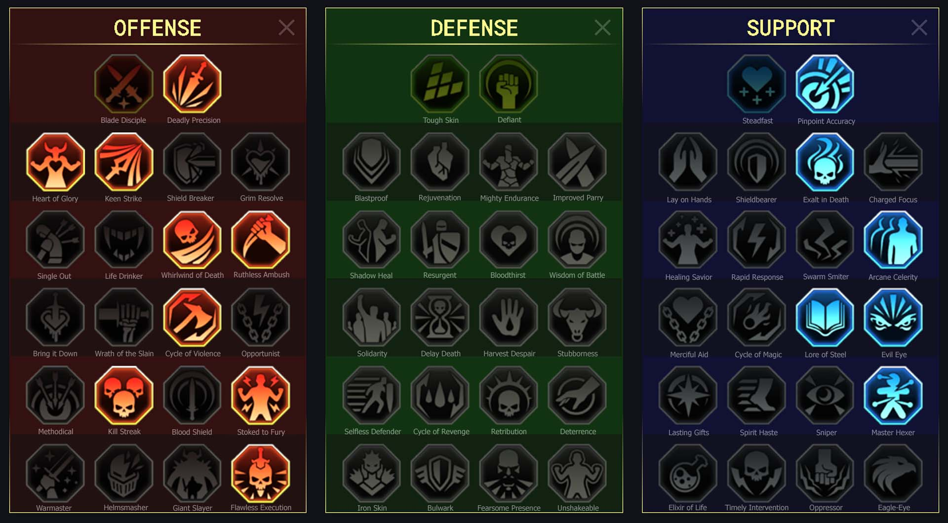 Bellower Arena Campaign Faction Wars