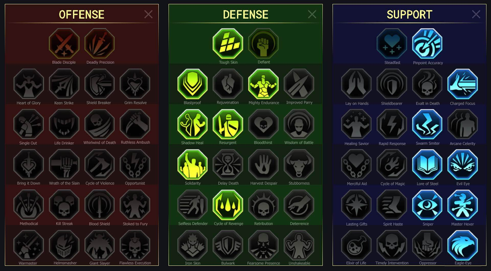 Golden Reaper Arena Campaign Faction Wars