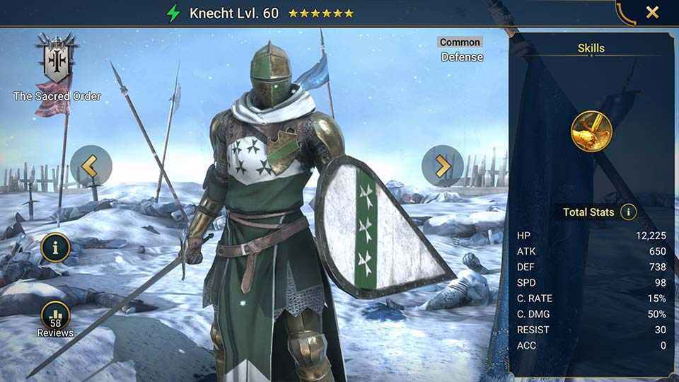 Knecht Raid Shadow Legends