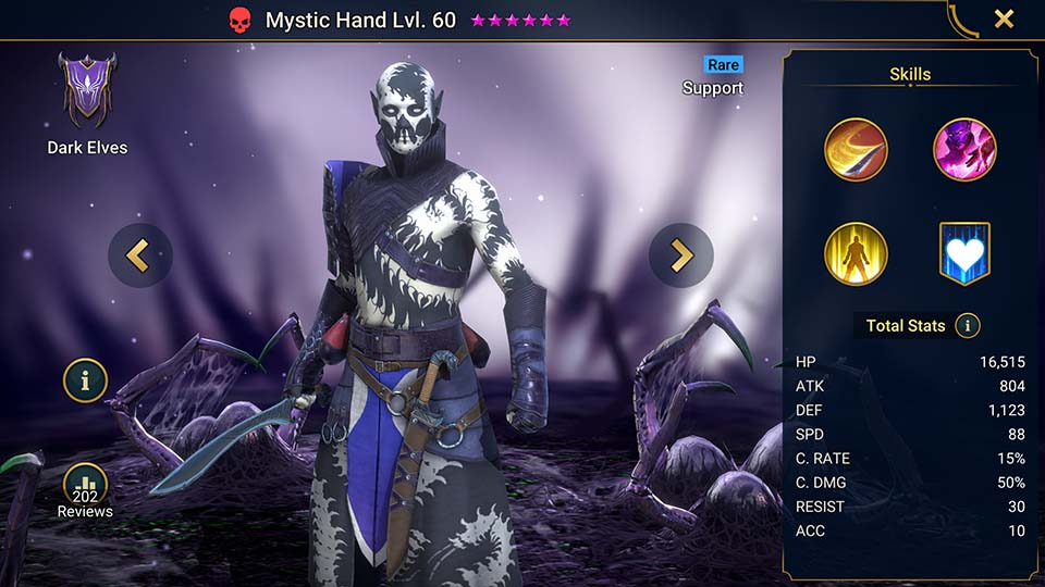 Mystic Hand Raid Shadow Legends