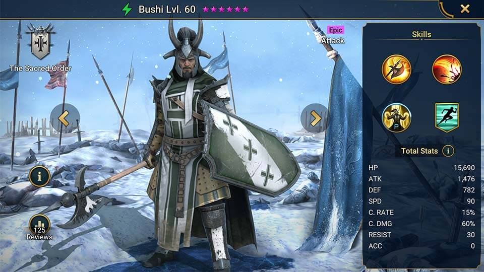 Raid Shadow Legends Bushi