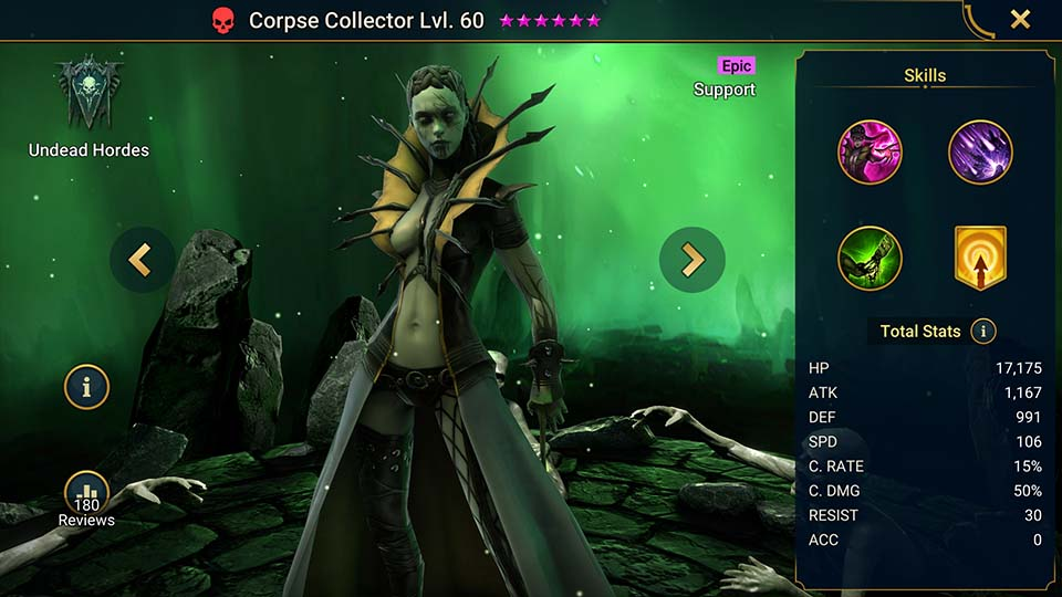 Raid Shadow Legends Corpse Collector