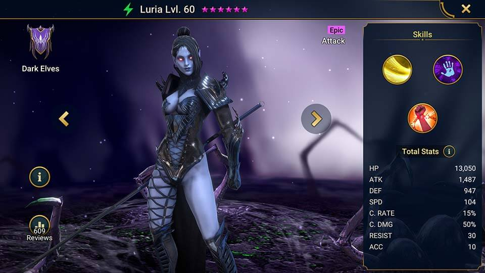 Raid Shadow Legends Luria