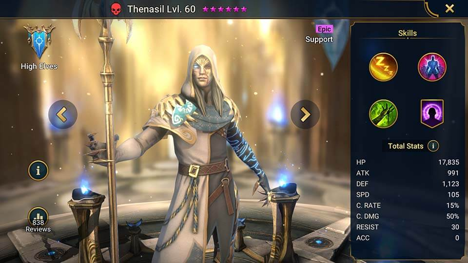 Raid Shadow Legends Thenasil
