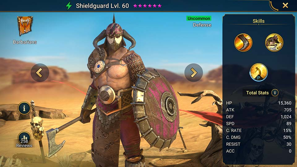 Shieldguard Raid Shadow Legends
