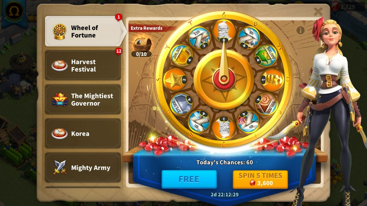 Wheel of Fortune Event Guide