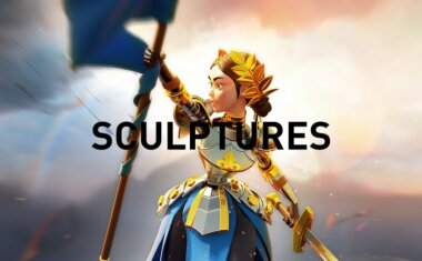 Rise of Kingdoms Commander Sculptures