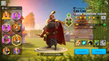 level up commander Rise of Kingdoms