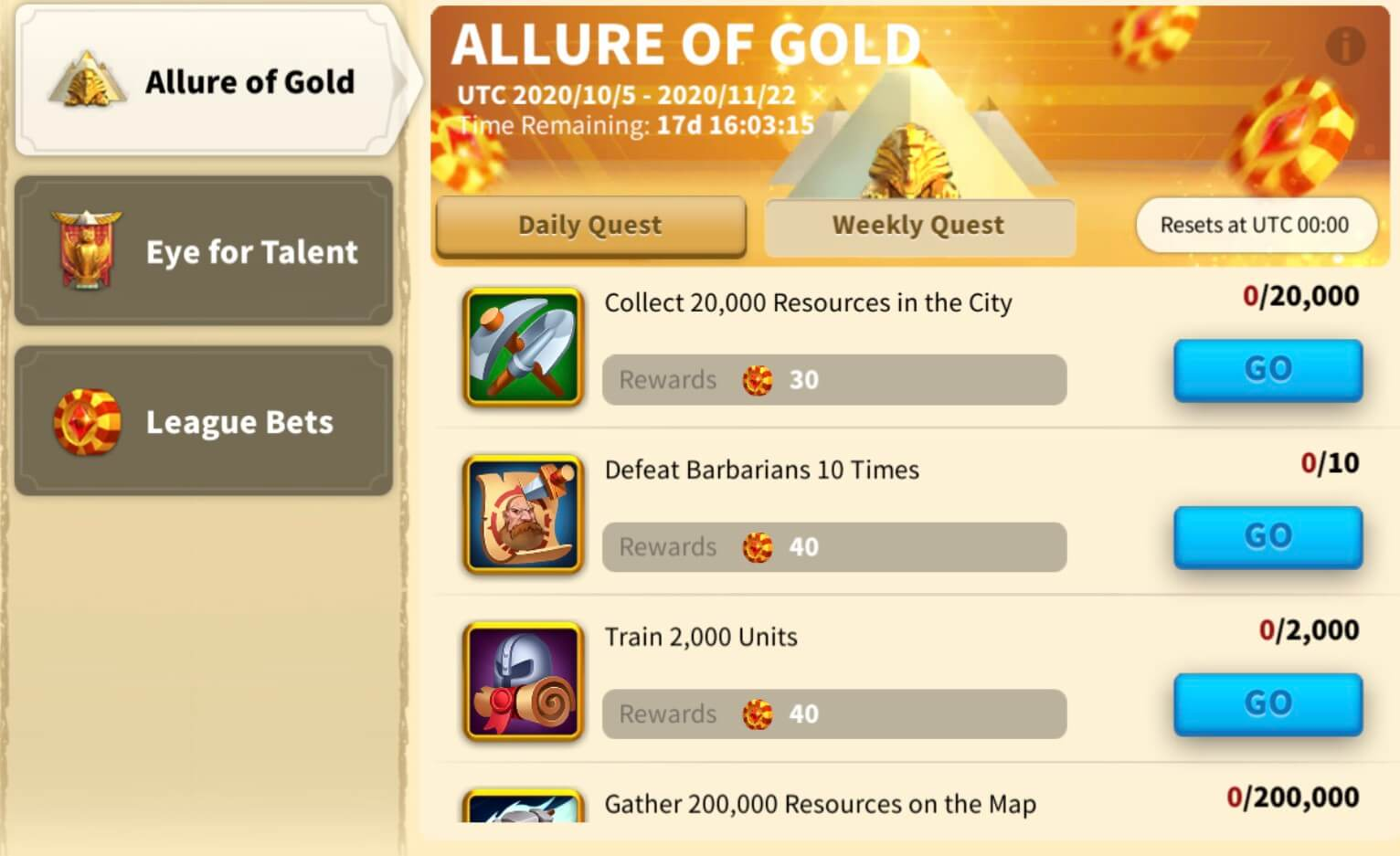 allure of gold