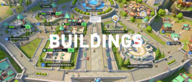 infinity kingdom buildings